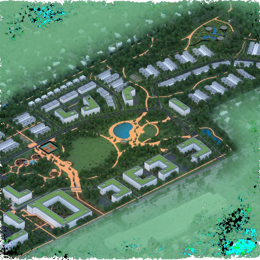Plan du Quartier Melrose